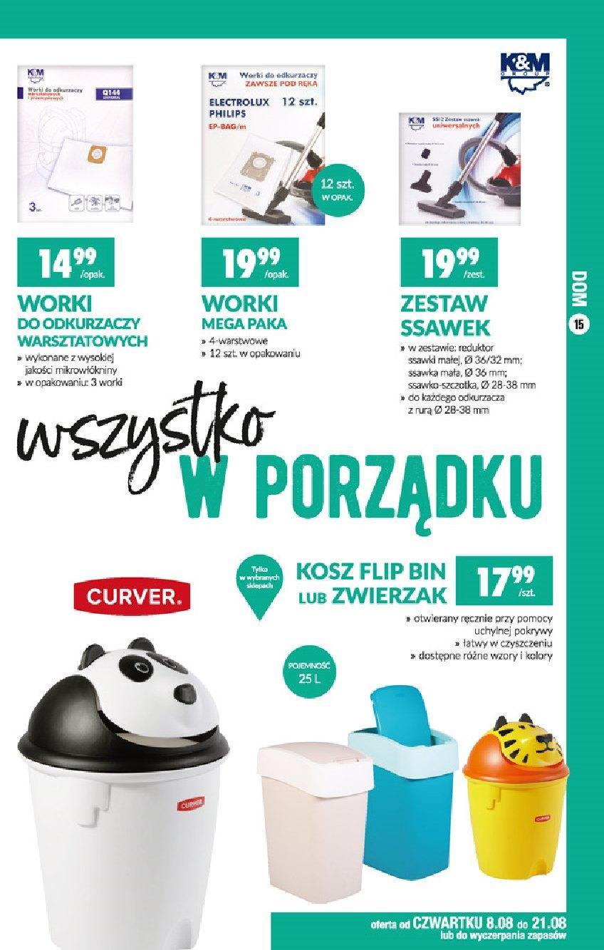 Gazetka promocyjna Biedronka do 21/08/2019 str.15