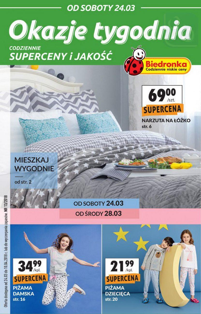 Gazetka promocyjna Biedronka do 10/04/2018 str.0