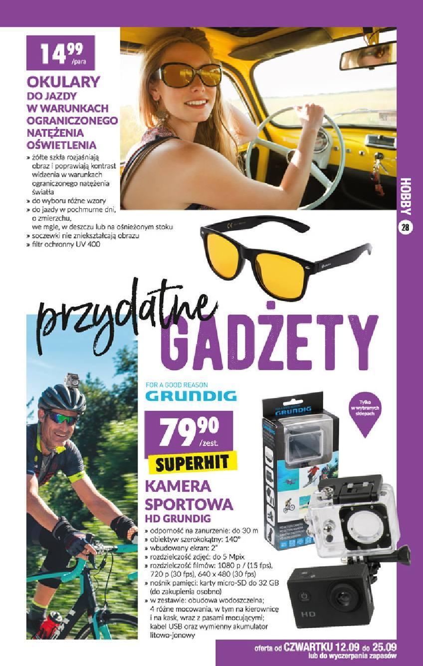 Gazetka promocyjna Biedronka do 25/09/2019 str.28