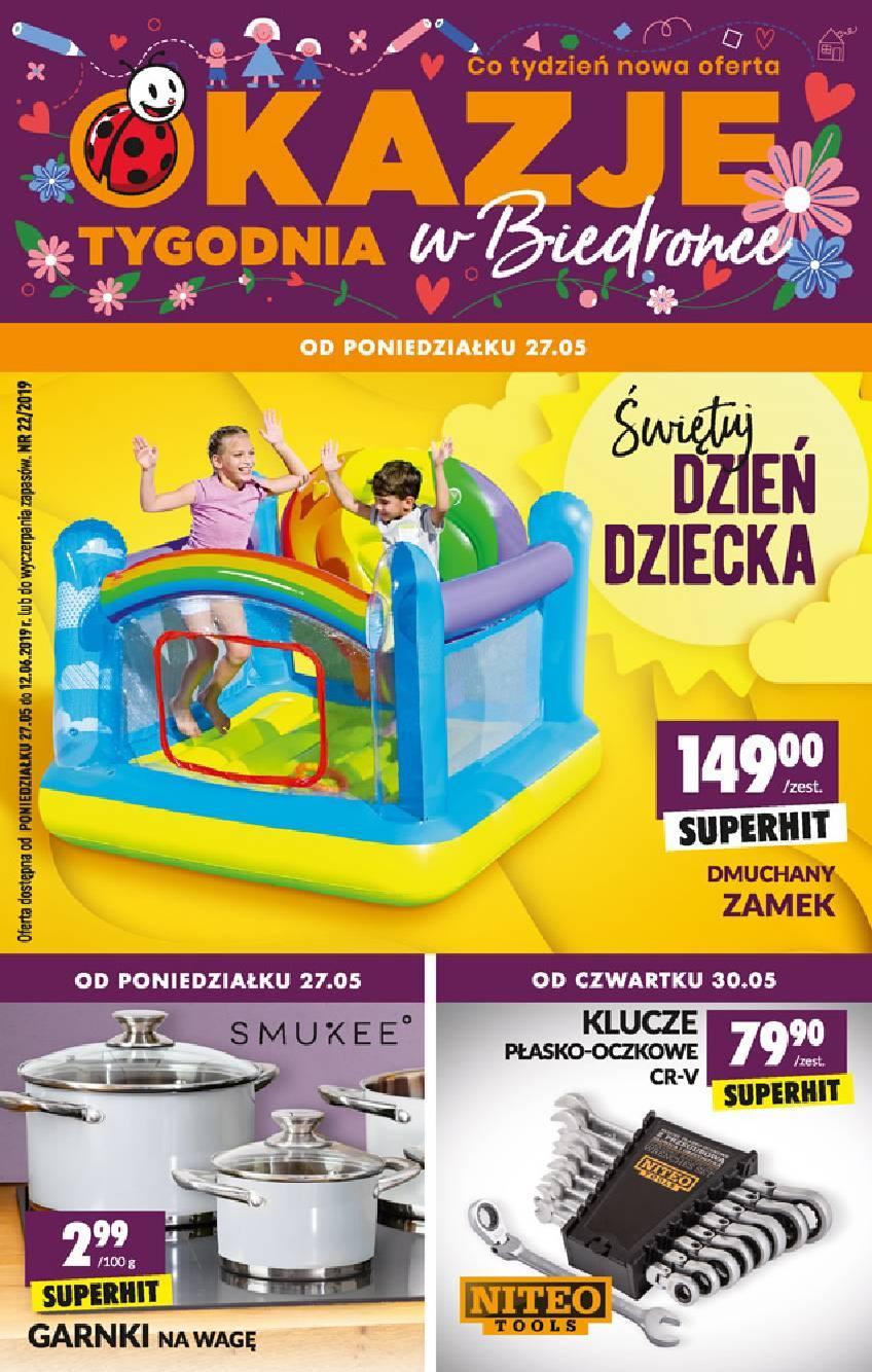Gazetka promocyjna Biedronka do 12/06/2019 str.1