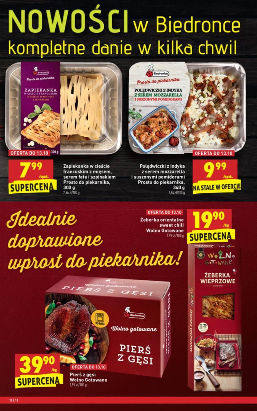 Gazetka promocyjna Biedronka do 17/10/2018 str.10