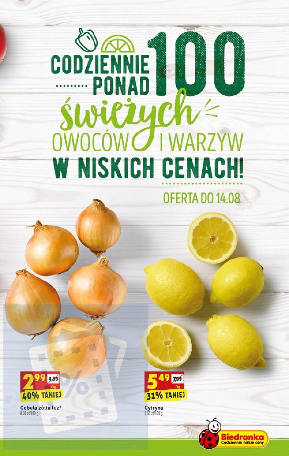 Gazetka promocyjna Biedronka do 17/08/2019 str.7