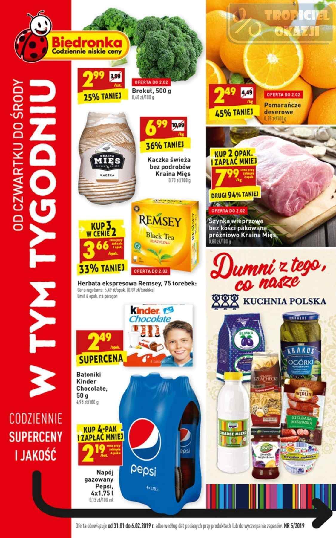 Gazetka promocyjna Biedronka do 06/02/2019 str.0