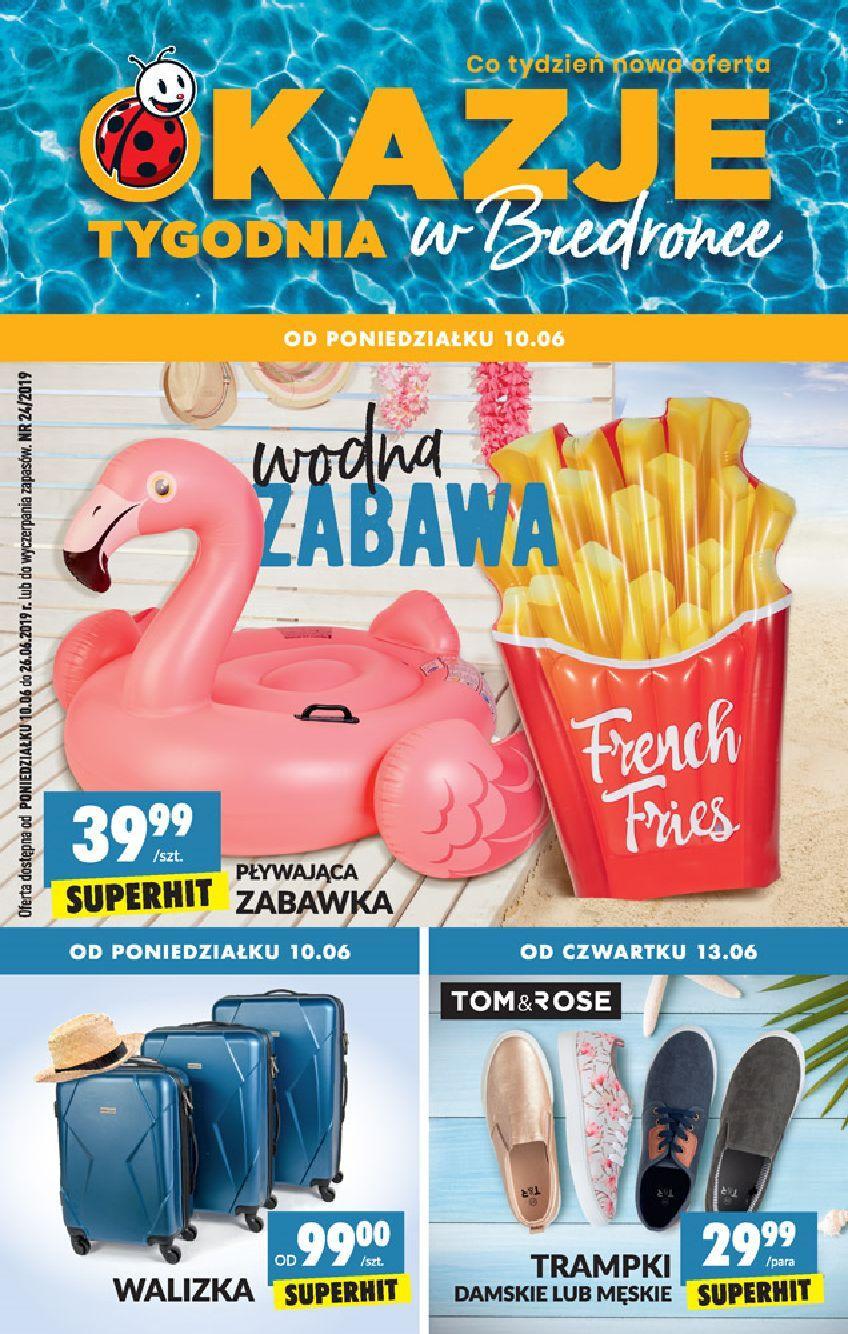 Gazetka promocyjna Biedronka do 26/06/2019 str.1