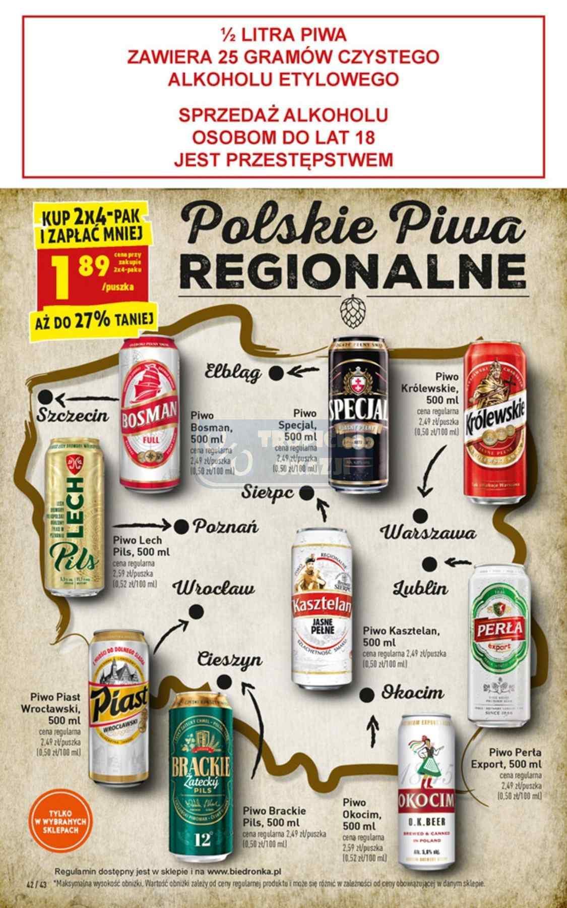 Gazetka promocyjna Biedronka do 19/01/2019 str.42