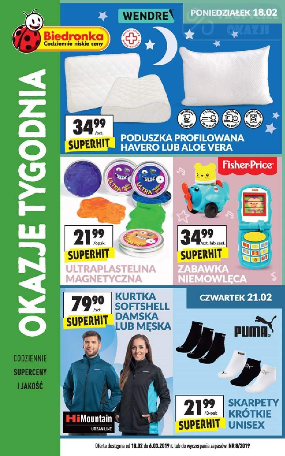 Gazetka promocyjna Biedronka do 06/03/2019 str.0