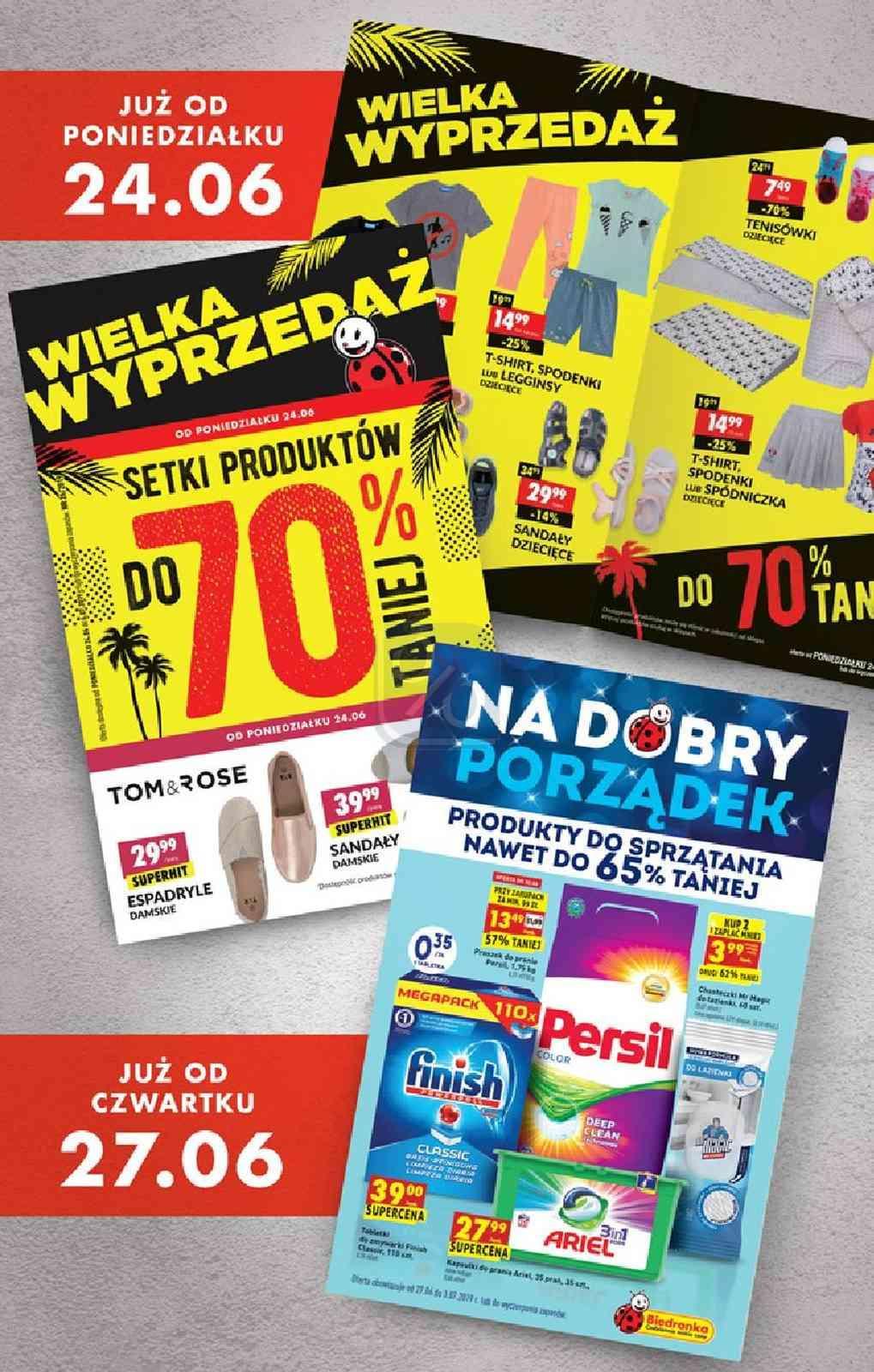 Gazetka promocyjna Biedronka do 30/06/2019 str.71
