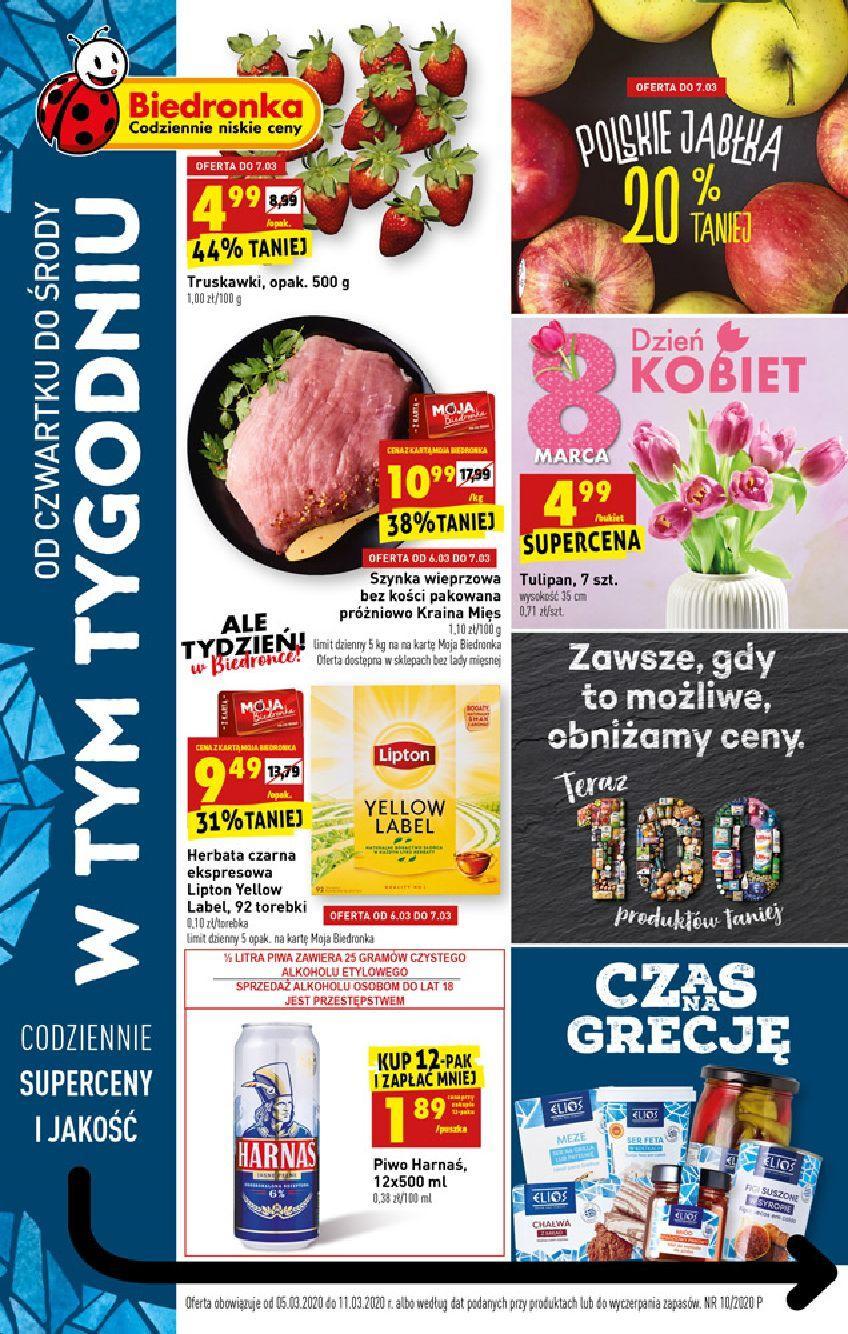 Gazetka promocyjna Biedronka do 11/03/2020 str.0