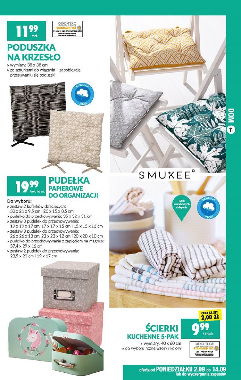 Gazetka promocyjna Biedronka do 18/09/2019 str.11
