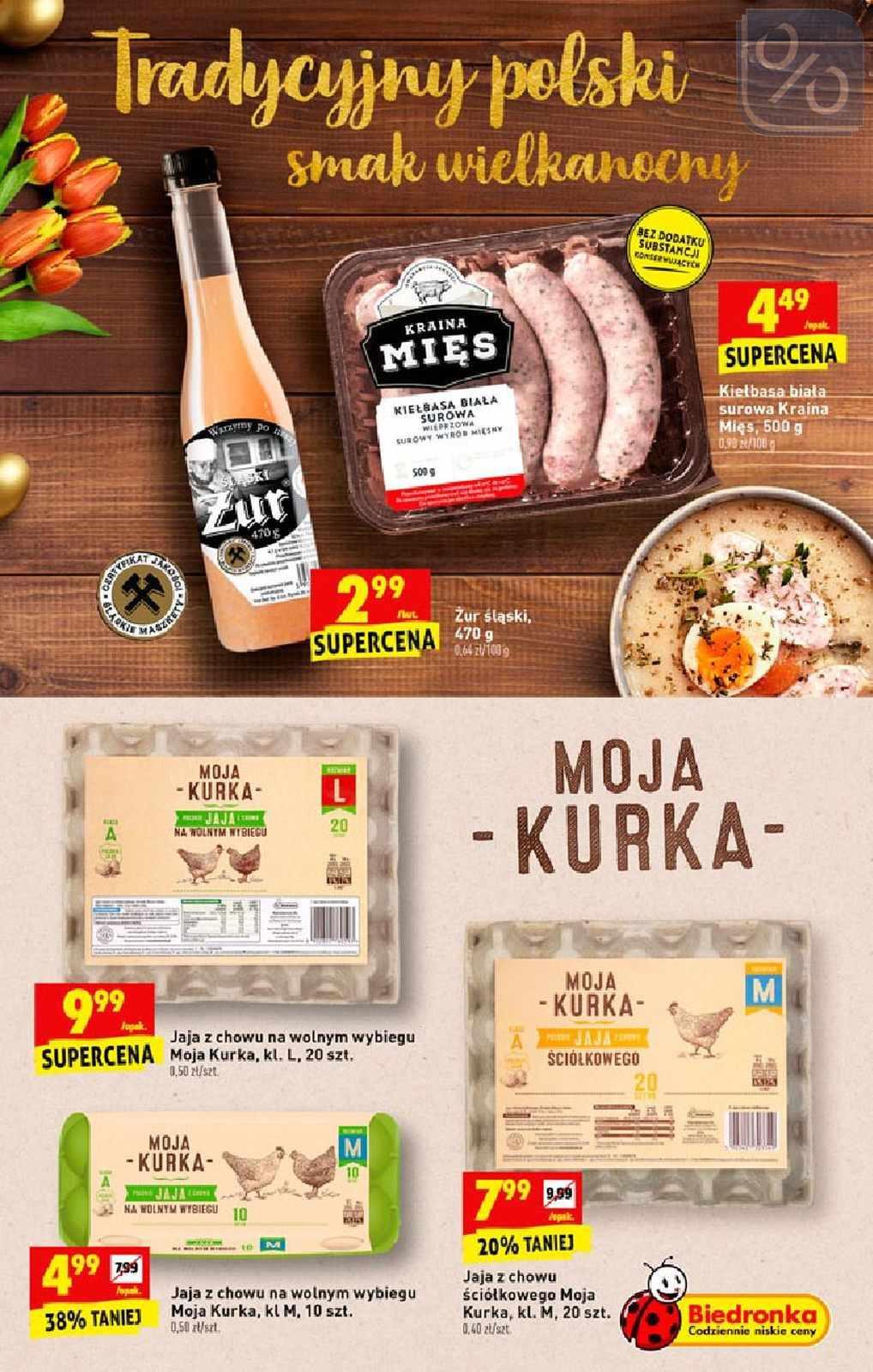 Gazetka promocyjna Biedronka do 20/04/2019 str.13