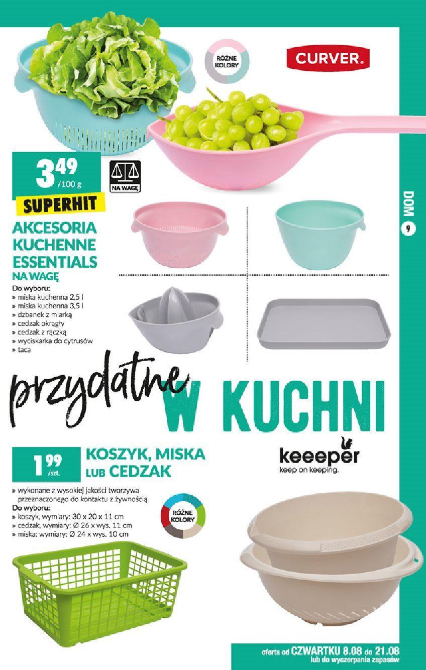 Gazetka promocyjna Biedronka do 21/08/2019 str.9