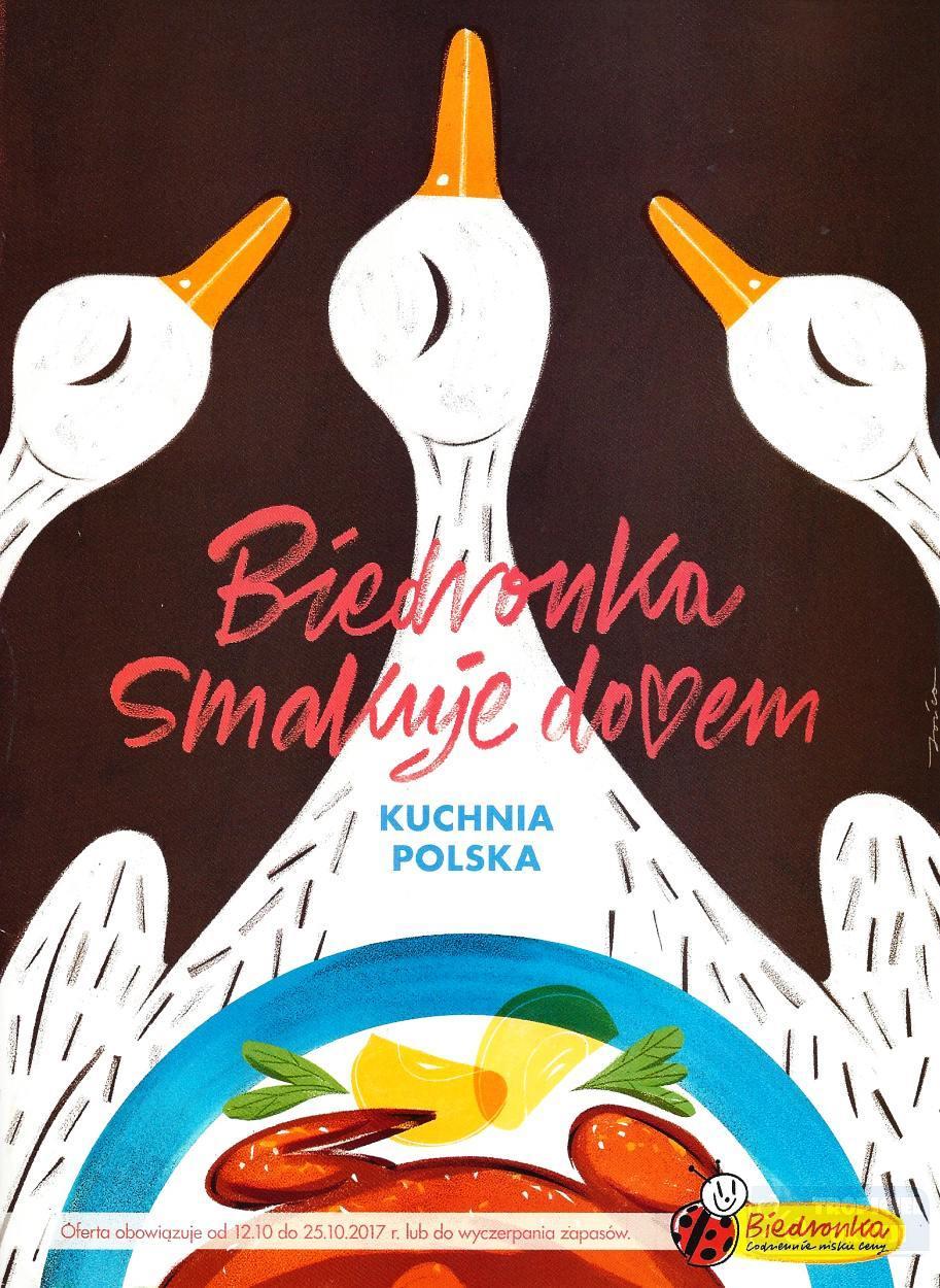 Gazetka promocyjna Biedronka do 25/10/2017 str.0