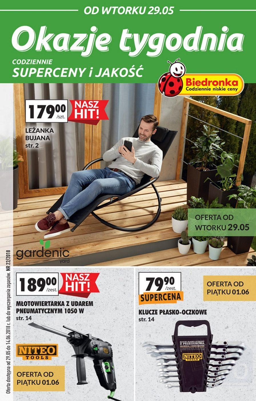 Gazetka promocyjna Biedronka do 14/06/2018 str.0