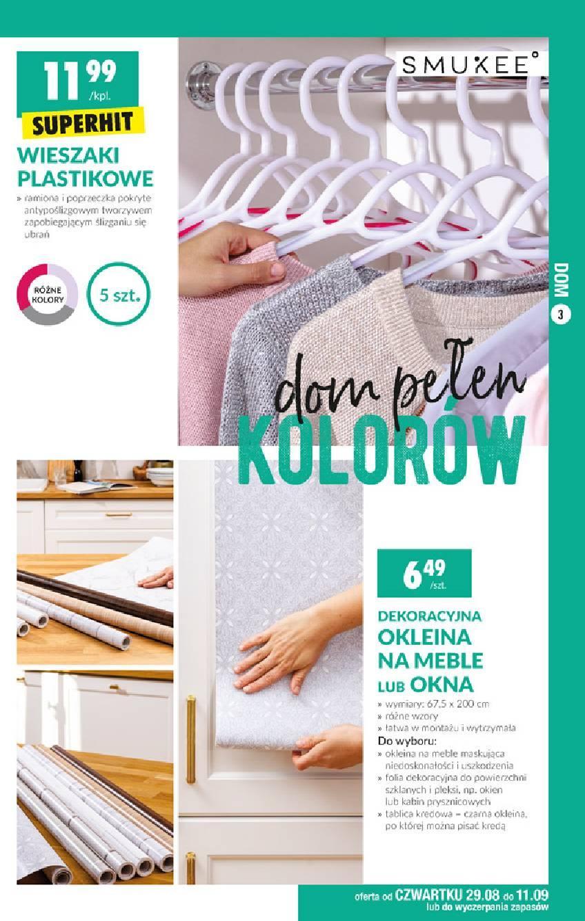 Gazetka promocyjna Biedronka do 11/09/2019 str.3