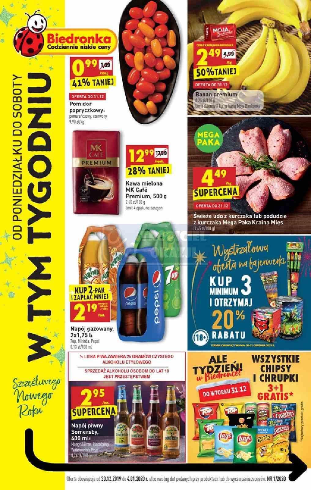Gazetka promocyjna Biedronka do 05/01/2020 str.0