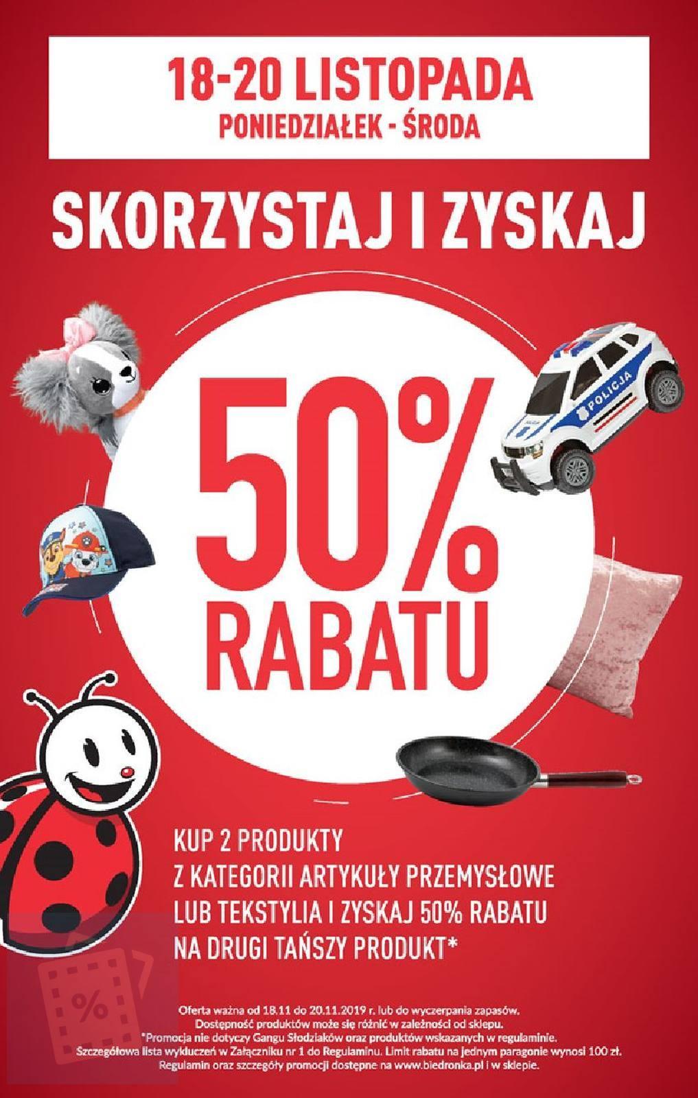 Gazetka promocyjna Biedronka do 24/11/2019 str.64