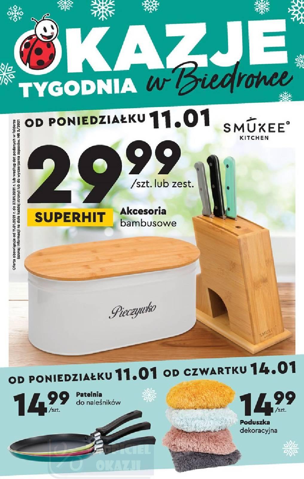 Gazetka promocyjna Biedronka do 27/01/2021 str.1