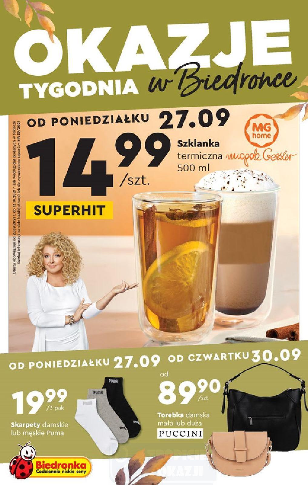 Gazetka promocyjna Biedronka do 13/10/2021 str.1