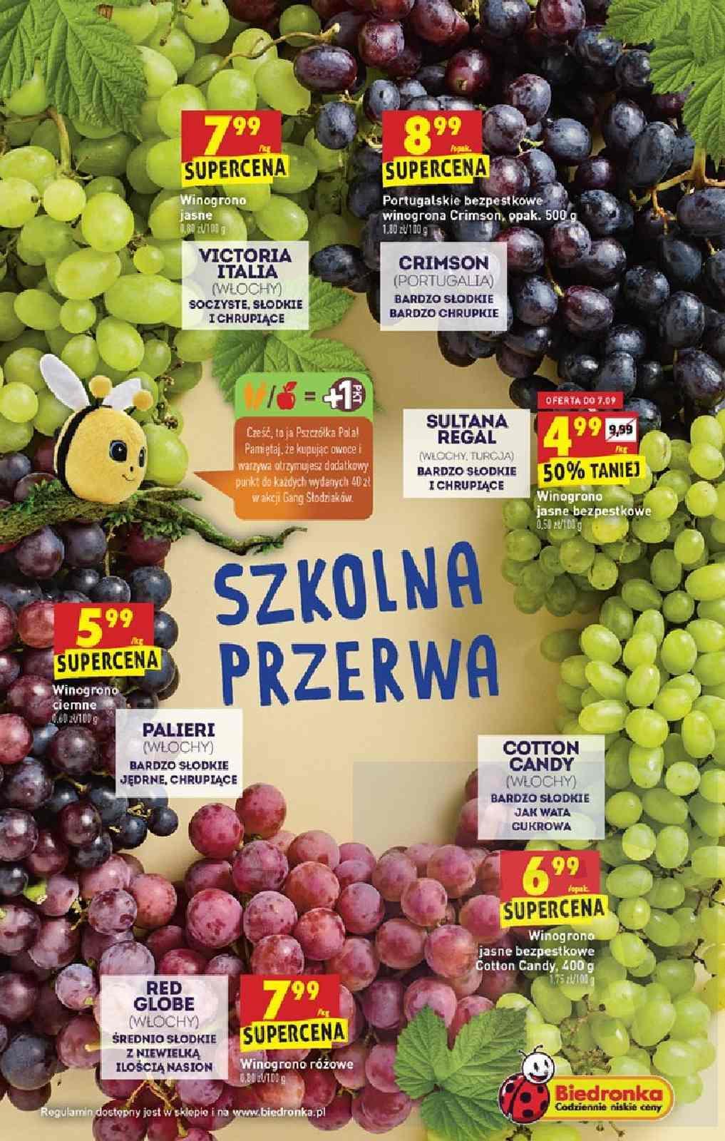 Gazetka promocyjna Biedronka do 11/09/2019 str.8