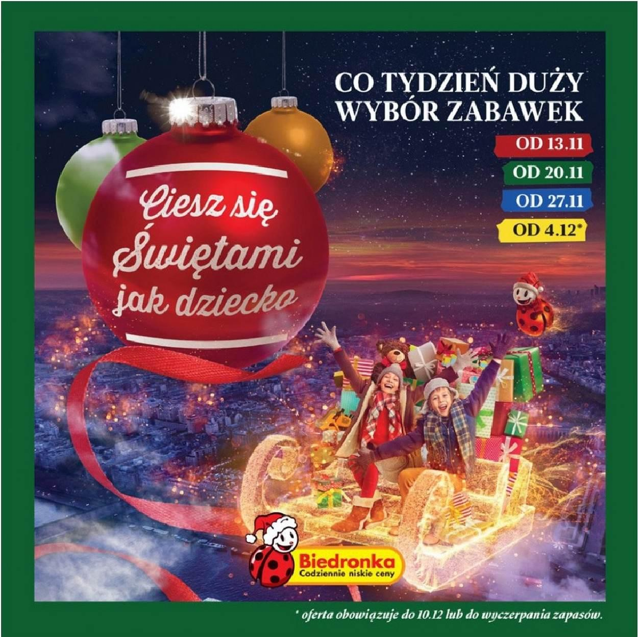 Gazetka promocyjna Biedronka do 24/12/2017 str.0