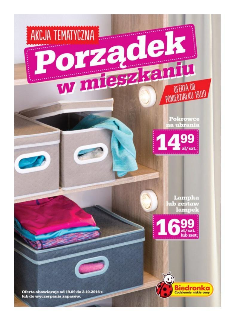Gazetka promocyjna Biedronka do 02/10/2016 str.0