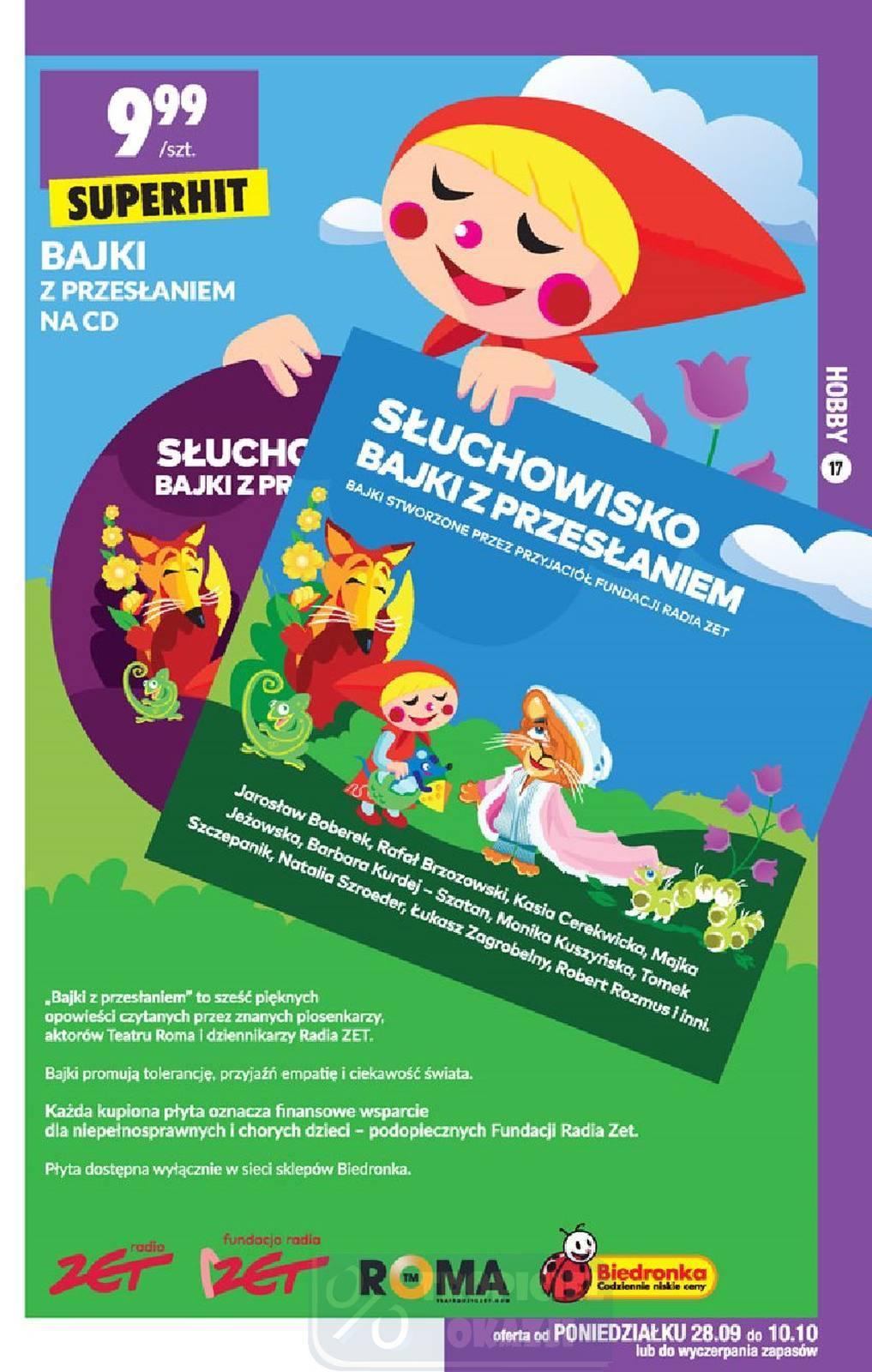 Gazetka promocyjna Biedronka do 14/10/2020 str.17