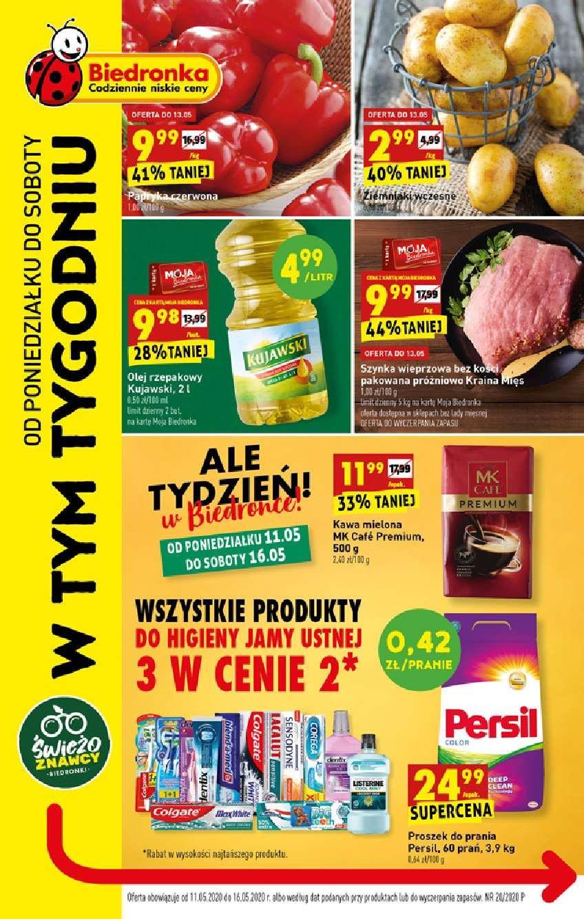 Gazetka promocyjna Biedronka do 16/05/2020 str.1