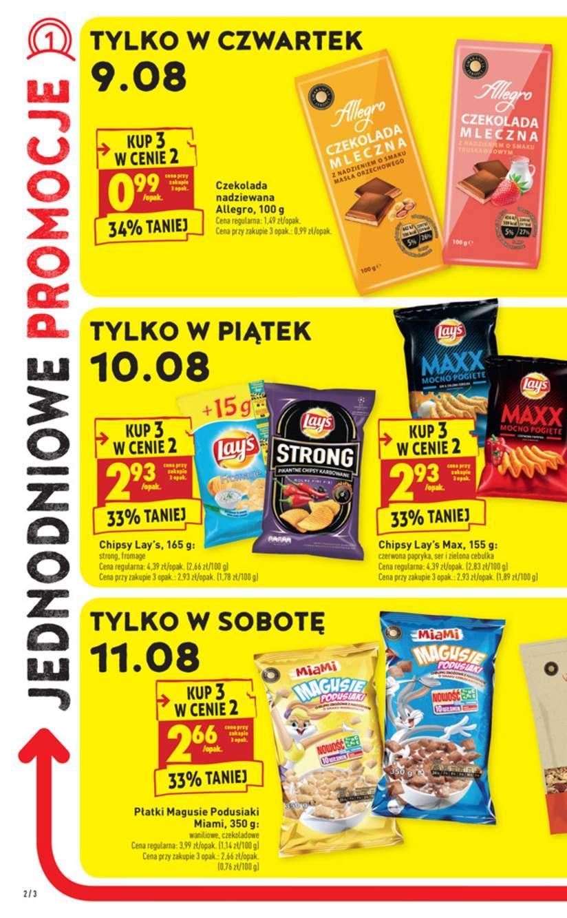 Gazetka promocyjna Biedronka do 15/08/2018 str.1