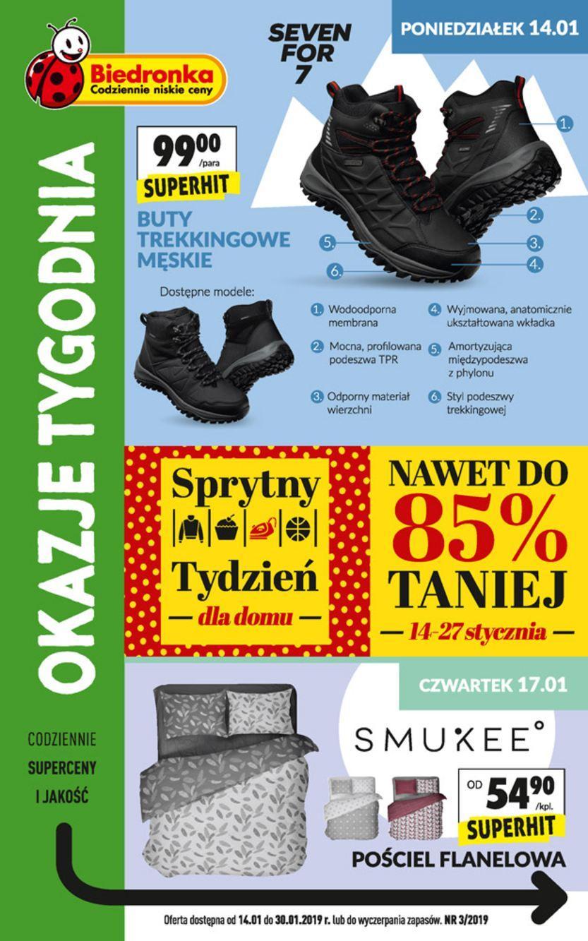 Gazetka promocyjna Biedronka do 30/01/2019 str.1