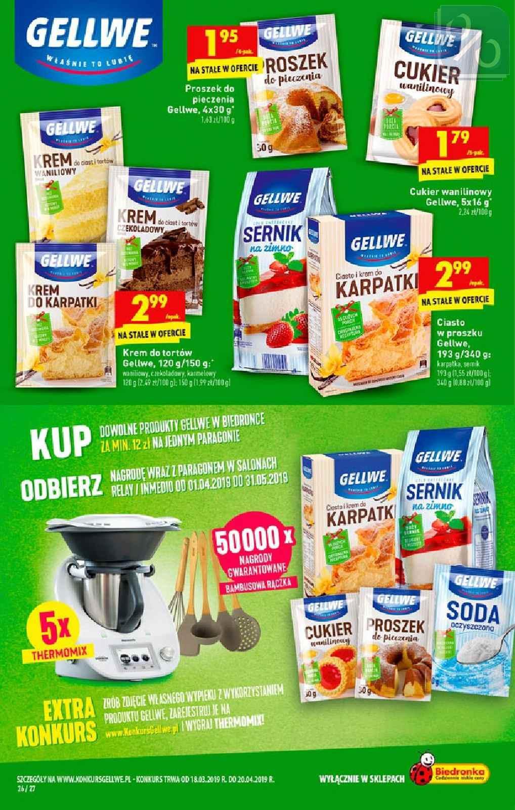 Gazetka promocyjna Biedronka do 20/04/2019 str.26