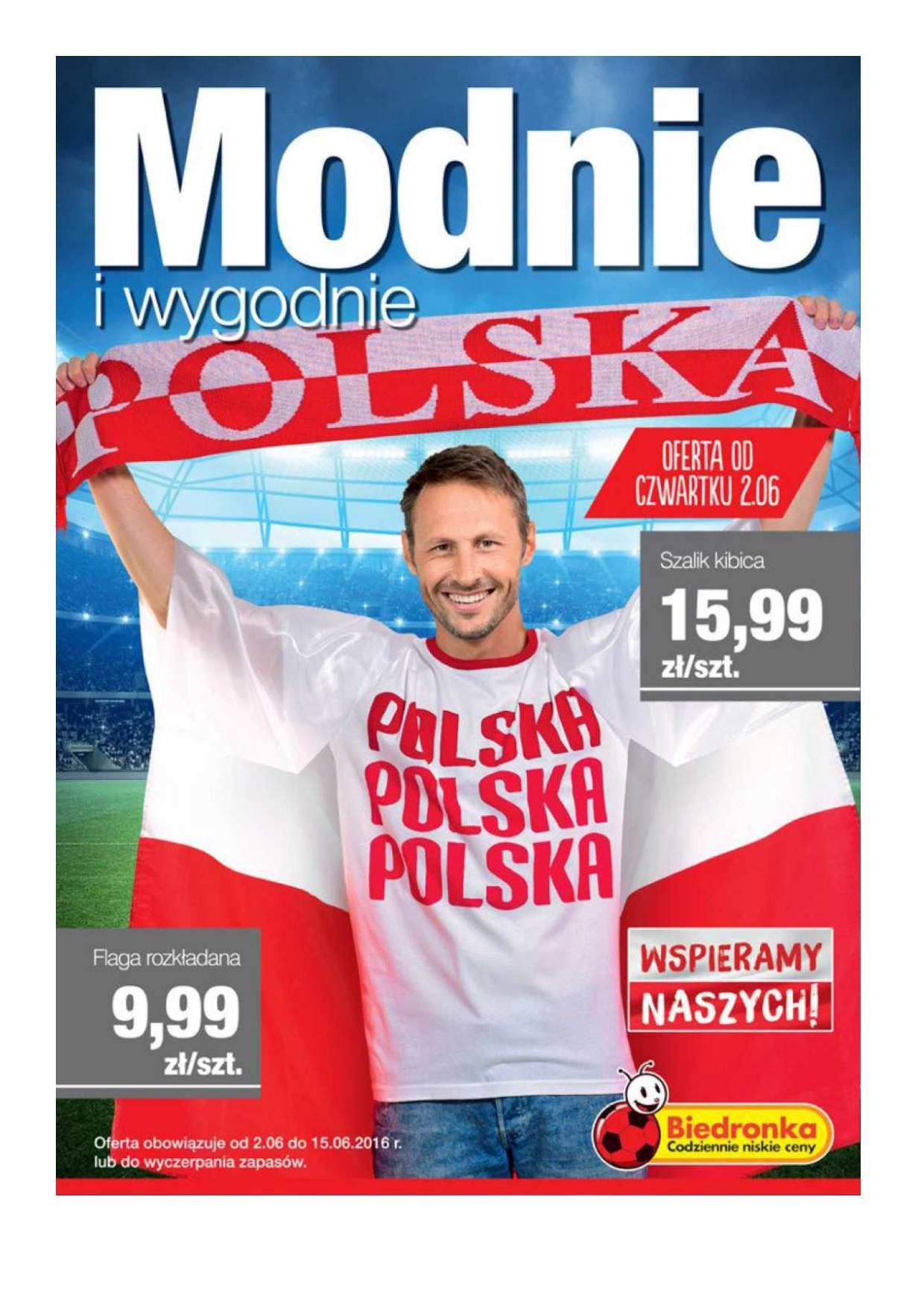 Gazetka promocyjna Biedronka do 15/06/2016 str.0