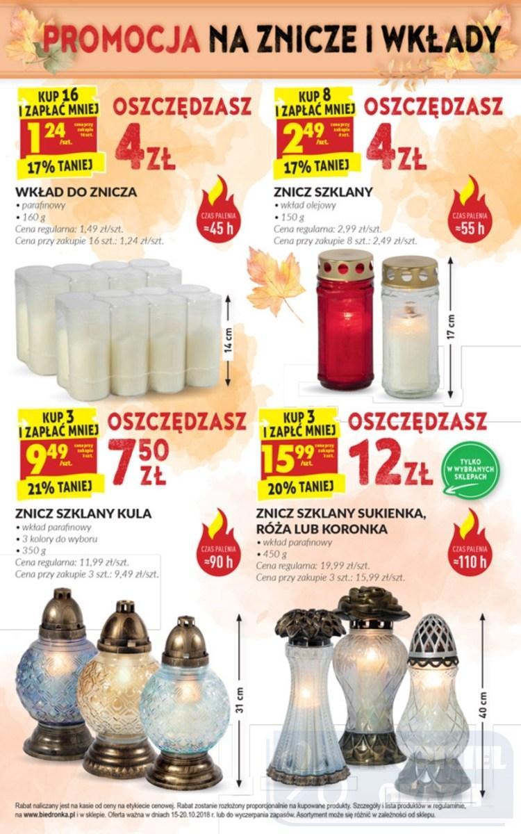 Gazetka promocyjna Biedronka do 20/10/2018 str.47