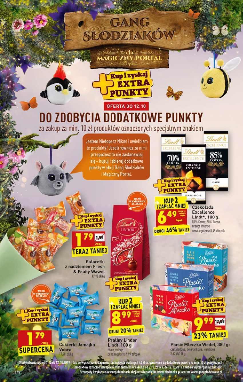 Gazetka promocyjna Biedronka do 16/10/2019 str.4