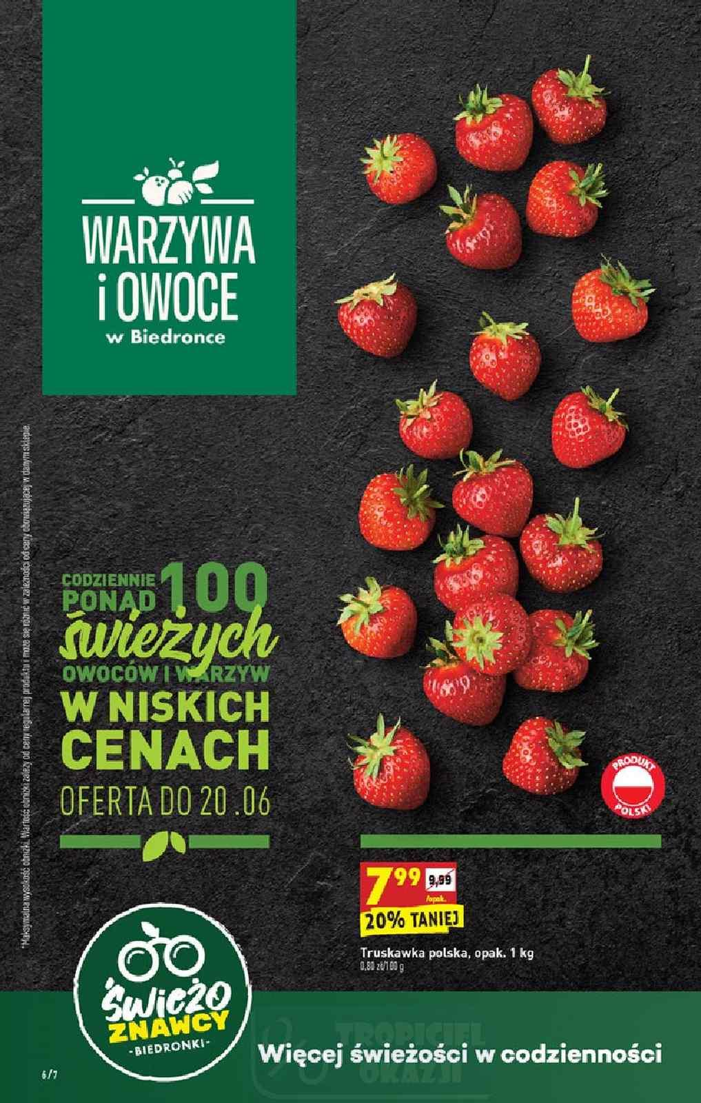 Gazetka promocyjna Biedronka do 24/06/2020 str.6