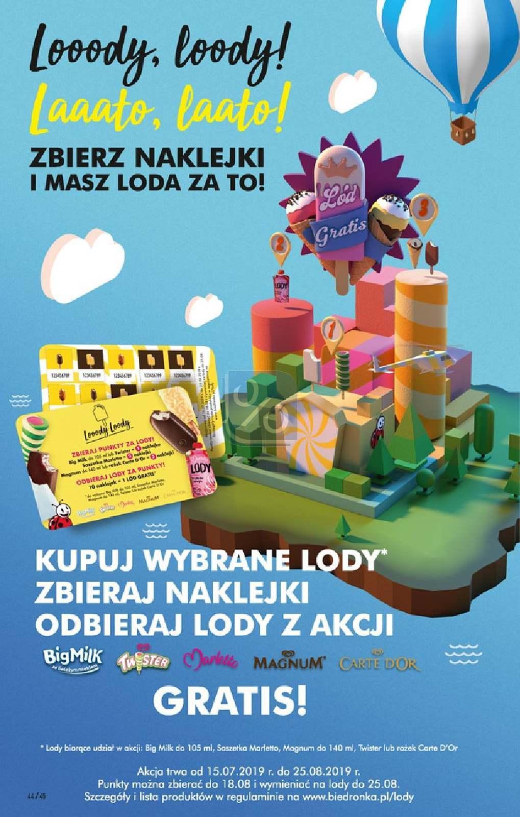 Gazetka promocyjna Biedronka do 21/07/2019 str.44