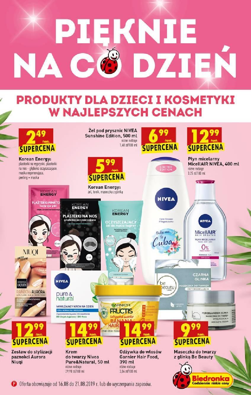 Gazetka promocyjna Biedronka do 21/08/2019 str.0