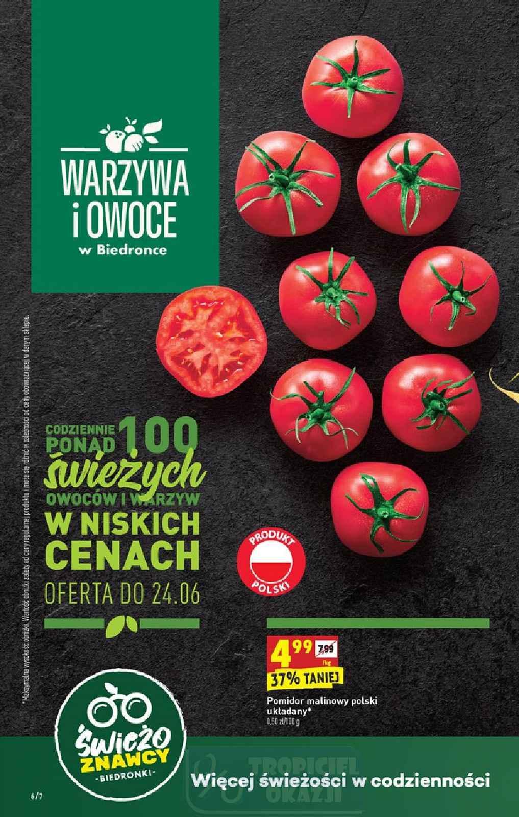 Gazetka promocyjna Biedronka do 28/06/2020 str.6