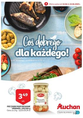 Auchan gazetka - od 13/06/2019 do 23/06/2019