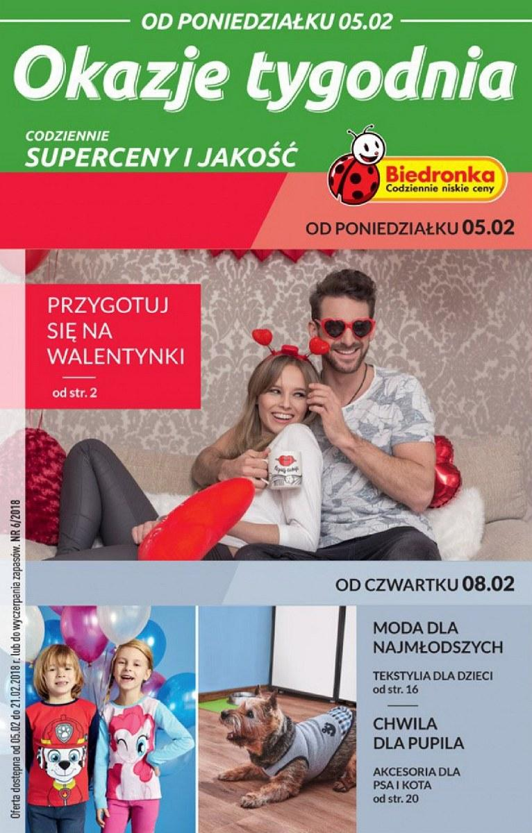 Gazetka promocyjna Biedronka do 21/02/2018 str.0