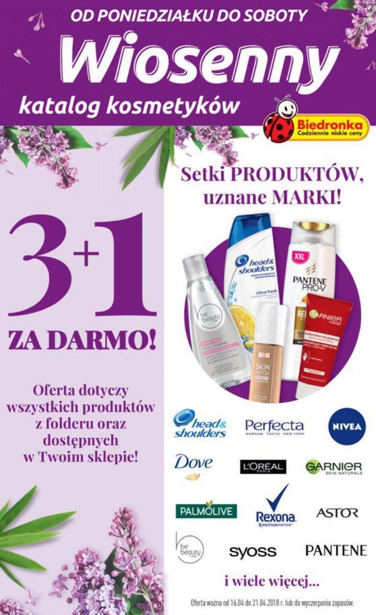 Gazetka promocyjna Biedronka do 21/04/2018 str.0
