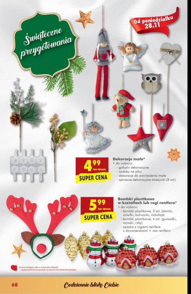 Gazetka Promocyjna I Reklamowa Biedronka świąteczne