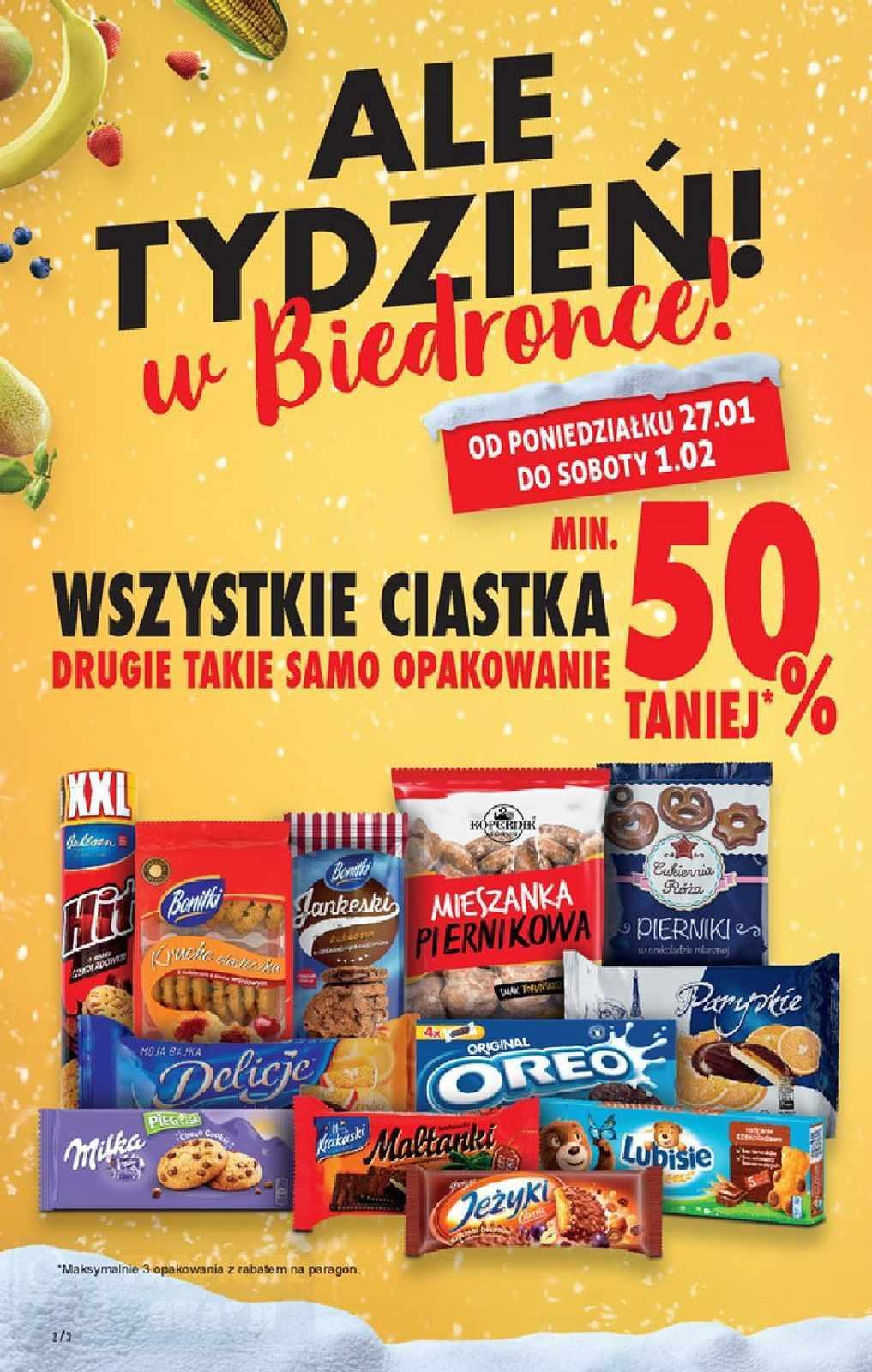 Gazetka promocyjna Biedronka do 01/02/2020 str.2