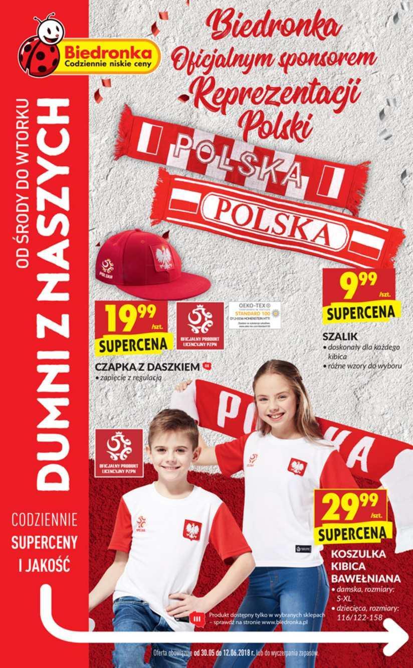 Gazetka promocyjna Biedronka do 12/06/2018 str.0