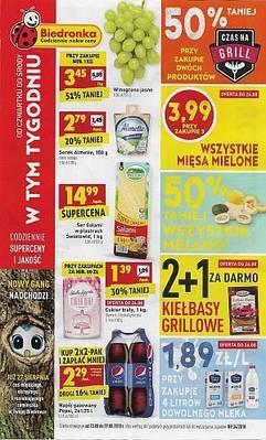 Biedronka gazetka - od 23/08/2018 do 29/08/2018