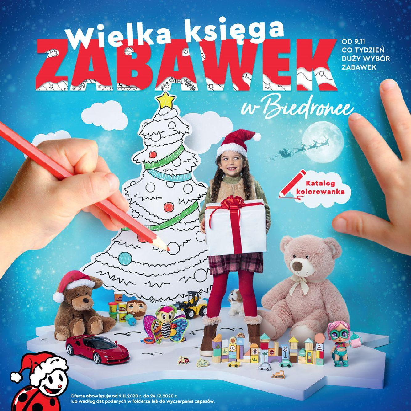 Gazetka promocyjna Biedronka do 24/12/2020 str.1