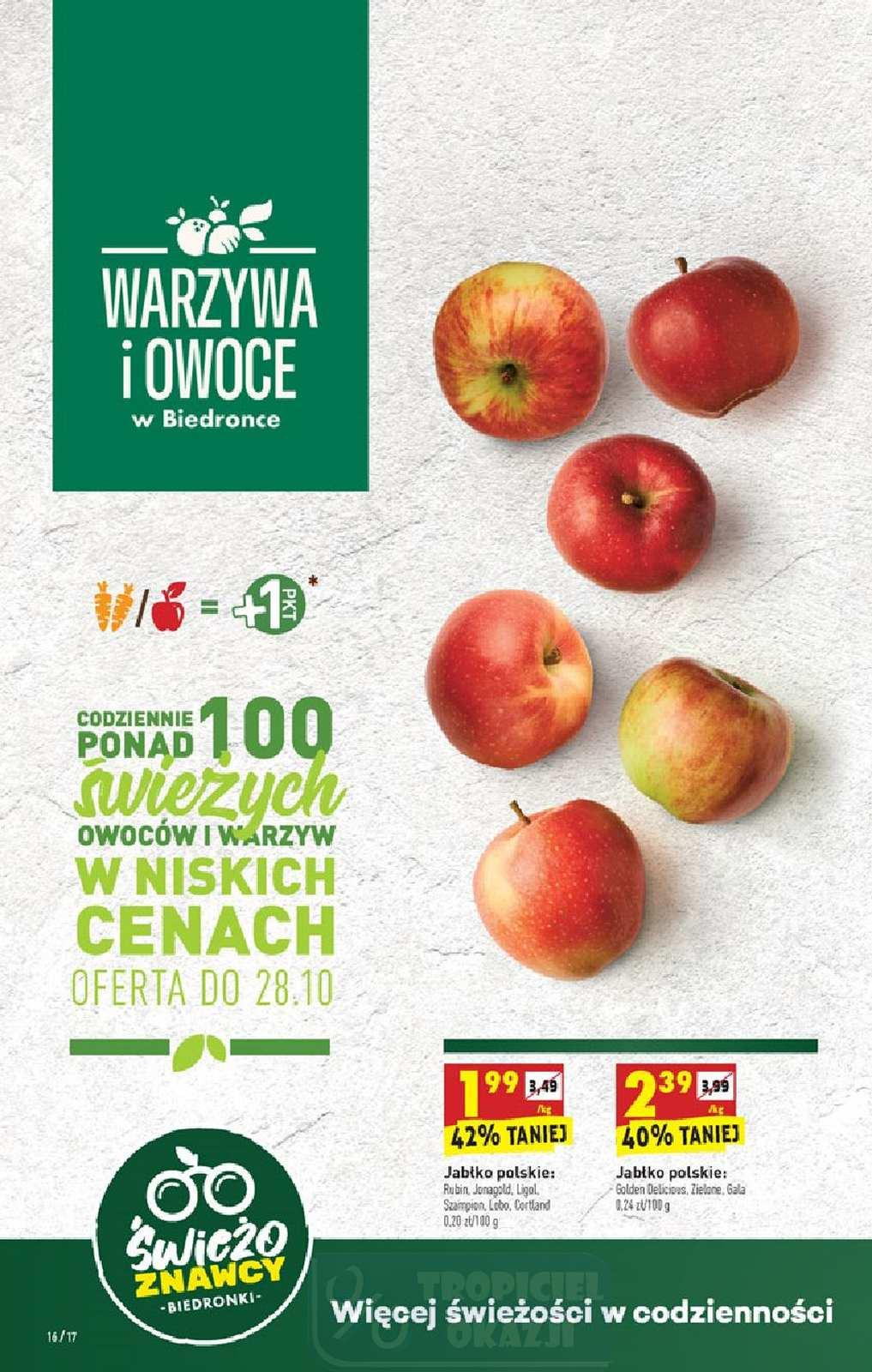 Gazetka promocyjna Biedronka do 31/10/2020 str.16