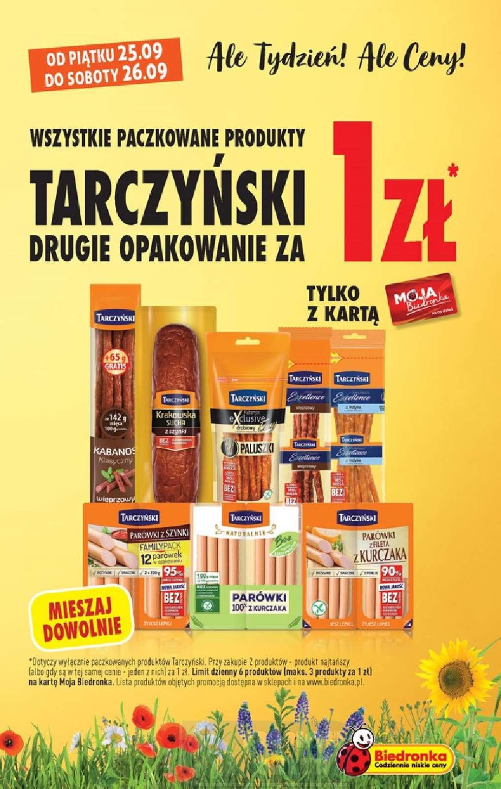 Gazetka promocyjna Biedronka do 30/09/2020 str.3