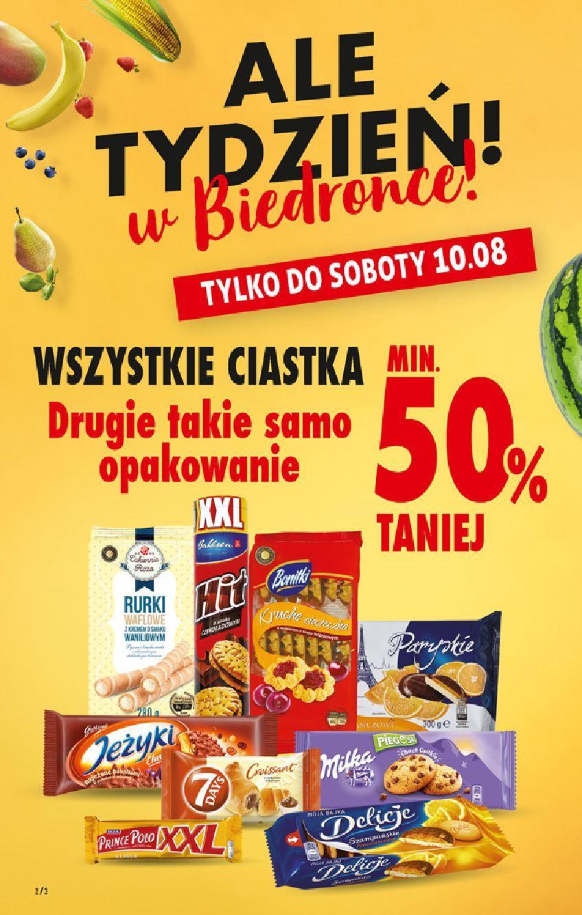 Gazetka promocyjna Biedronka do 14/08/2019 str.2