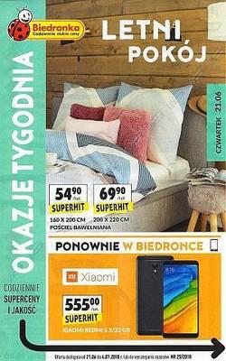 Biedronka gazetka - od 21/06/2018 do 04/07/2018