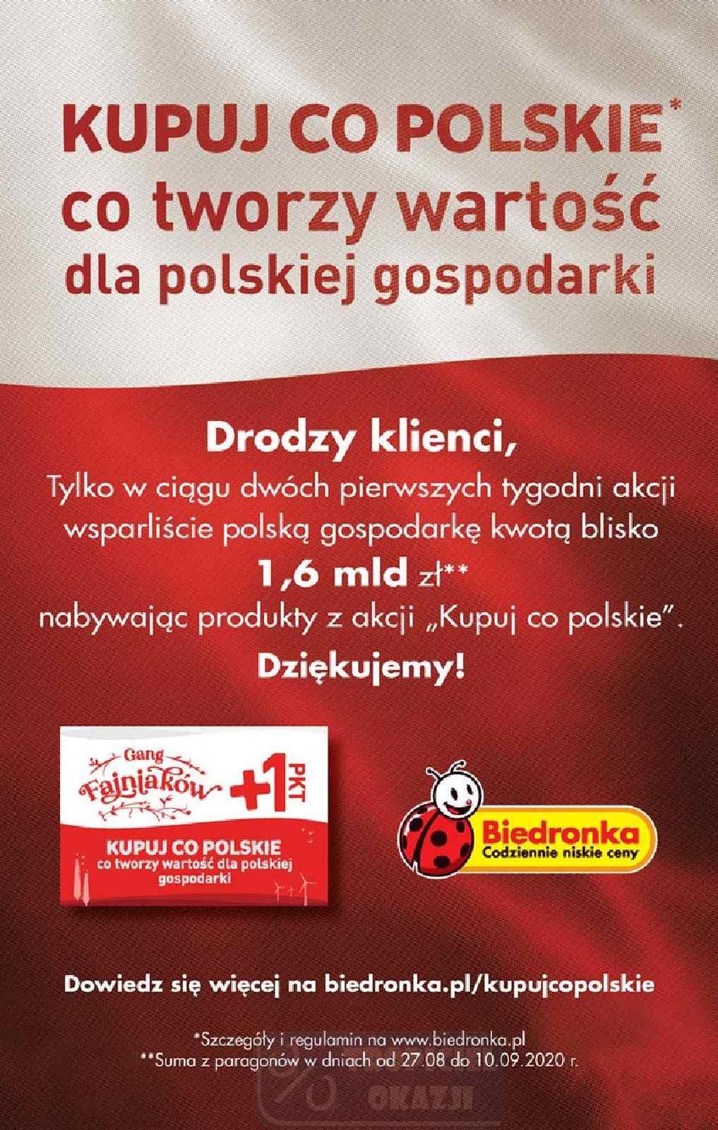 Gazetka promocyjna Biedronka do 30/09/2020 str.64